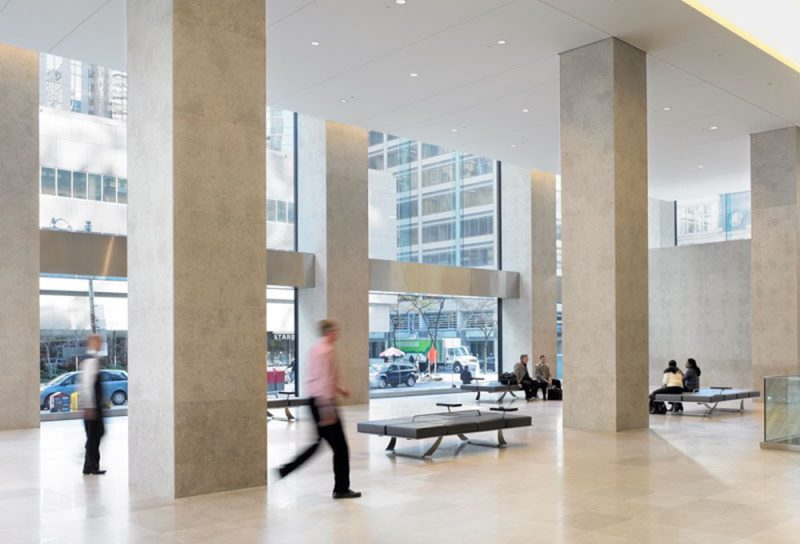 Richmond-Adelaide Centre lobby