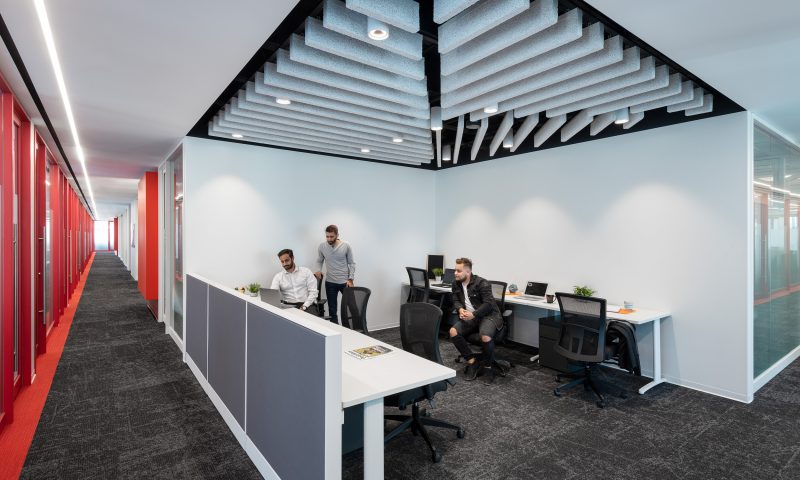 coworking space and meeting rooms