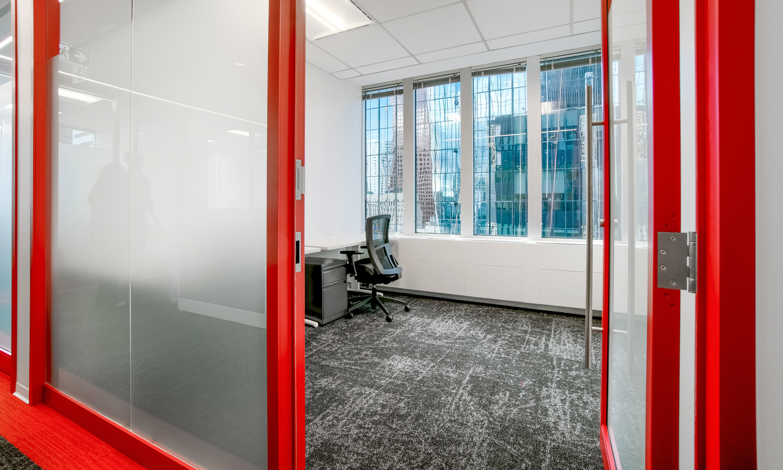 private office with view