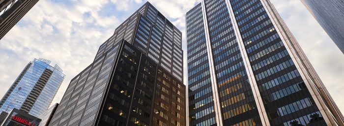 Downtown Toronto office buildings